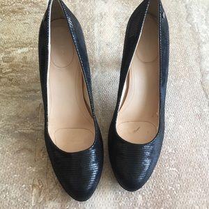 SZ 10 Black Calvin Klein Heels